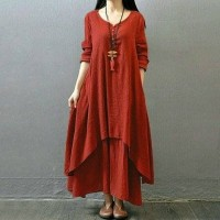 Longdress Nikita Mirzani Red VW70