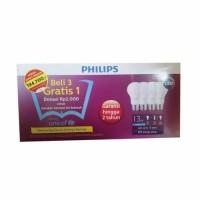 Jual Lampu Philips LED 13 Watt Isi 4 Pcs 100% Original Bergaransi Murah