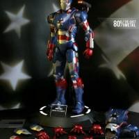 Play Imaginative Die Cast 1/4 IRON PATRIOT - Super Alloy - Iron Man 3