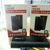 Jual Charger Batere Eser Dual Slot Batere 18650 ( Charger Vape Vapor ) Murah