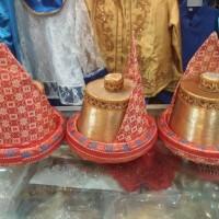 Topi Adat Aceh / Kopiah Meukotop ( Teuku Umar ) Untuk Anak - Anak