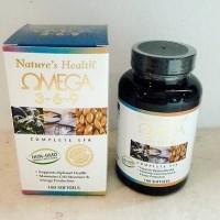 Jual omega 3-6-9 nature health isi 100 Murah