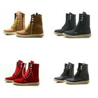 Jual Sepatu Wanita Pichboy Ziper Boots Original Murah
