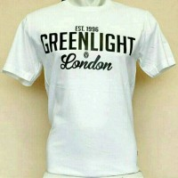 Jual tshirt / baju / kaos /t shirt cotton combed green light Murah