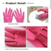 Jual Sarung Tangan Karet / Korean Rubber Glove Taehwa  Mencuci Memasak Murah