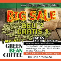 Jual Kopi Hijau / Green Bean Coffee ( Natural Fat Burner ) Murah