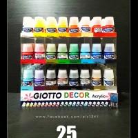 Jual Giotto Decor Acrylic Paints 25 ml - Cat Acrylic Murah
