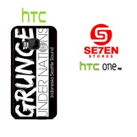 Casing HP HTC One M9 grunge under nation Custom Hardcase