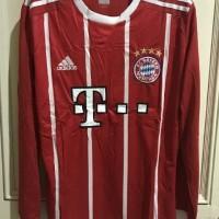 Jersey Baju Bayern Munchen Home Munich LS Longsleeve 17/18 Grade Ori