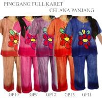 Jual Setelan Daster Celana Batik Piyama Baju Rumah Tidur Gp13 Murah