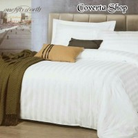 Bed Cover Set Hotel Polos - Emboss - Double Size 160/180/200x200x40cm