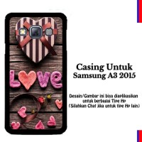 Case Samsung A3 2015 Love Gift Hardcase Cover