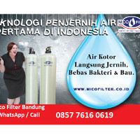 Toko Filter Air Sumur Bor / Nico Penjernih Air / Saringan Air Keruh