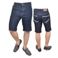 Celana Pendek Denim Kasual Pria - LXC 454