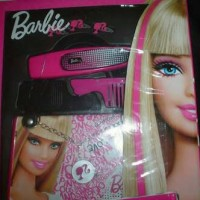 [PRELOVED] Barbie Glam Hair Extentions / pink color