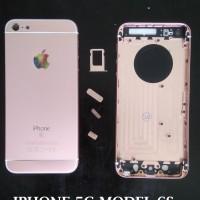 CASING IPHONE 5 - 5G MODEL 6S - BACK COVER FULL HOUSING - BACK DOOR