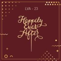 Jual LVA 23 / Topper / Hiasan Kue / Caketopper / Bunting Flag / Cake Topper Murah
