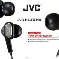 Dual Driver JVC HA-FXT90 Original Great Earphone You Will Fall In Love