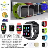 Onix Smartwatch U10 A1 Silver Perak Smart Watch mirip Apple watch ORI