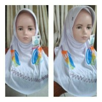 Jual Kerudung Rabbani Anak Terbaru, Jilbab Bergo Instan Anak Murah
