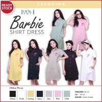 Jual RL Shirt Dress Polo Dress Kemeja Wanita Suede DS924 Murah