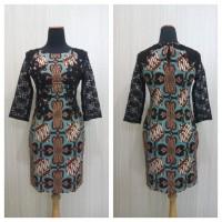 Baju Batik Wanita Model Batik Kupu Modern Batik Brokat
