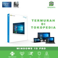 License Windows 10 Pro 32/64bit Original 100% Online Activation