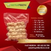 Plastik Vakum Nylon 15x45 cm