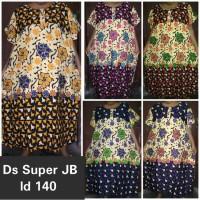Jual daster batik super jumbo 8L / baju tidur ibu big size busui / grosir Murah