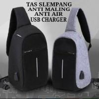 Jual Tas Anti Maling - Anti Theft Backpack - Smart Back Pack - USB CHARGER Murah