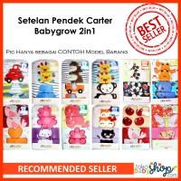 Setelan Pendek Carter 2in1 (Best Seller)