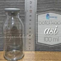 Jual botol susu wadah asi kaca 100 ml Murah