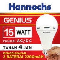 Lampu LED Hannochs Genius 15W (emergency light) - BUKAN PHILIPS