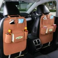 Jual CAR SEAT ORGANIZER TAS MOBIL MULTIFUNGSI DI PASANG DI BELAKANG JOK Murah