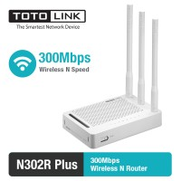 Router Wireless N 300Mbps 4 LAN Port - TOTOLINK N302R Plus