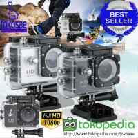 Produk Unik Kamera action 16MP Camera Kekinian Masa Kini Axis acc + ca