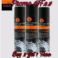 No Wet Waterproof Spray tidak takut basah lagi
