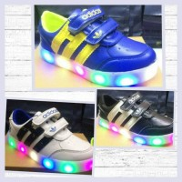 Sepatu Anak Import - Adidas HI New Led Shoes