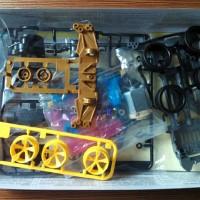 Best Seller Track Tamiya 2 Jalur 4WD Super Racer Ready Gojek