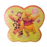 Mouse Pad Disney Winnie The Pooh & Friend kuning-orange