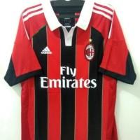 Jersey AC Milan Home Retro 2012 2013 Grade Ori Murah