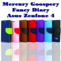 Case Hp Asus Zenfone 4 Mercury Goospery Fancy Diary