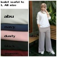 Celana Kulot Palazzo Kain Wanita Terbaru Style Muslim Fashion Hijab