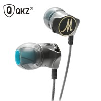 Knowledge Zenith Stereo Bass Earphone Headset with Mic - QKZ-DM7