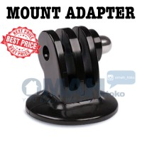 Plastic Tripod Camera Mount Adapter for GoPro, Xiaomi Yi, SJ CAM