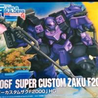 HG GUNDAM GPB-06F SUPER CUSTOM ZAKU F2000