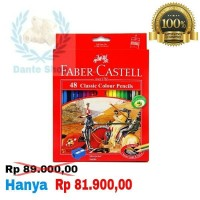 Pensil Warna Faber Castell isi 48
