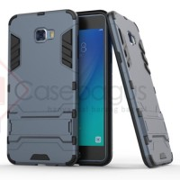Samsung Galaxy C7 Pro C7010 Hybrid Armor Stand Hard Case Casing Cover