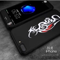 Oppo F3 F3f Gambar Tribal Full Body Cover Case Casing Tempered Glass