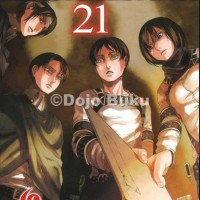 Komik Seri : Attack on Titan ( Hajime Isayama )